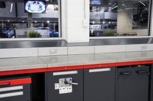 auto dealership redesign countertop